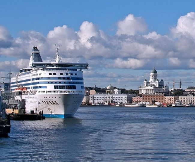 На пароме в Финляндию