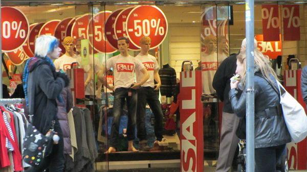Распродажи в Хельсинки