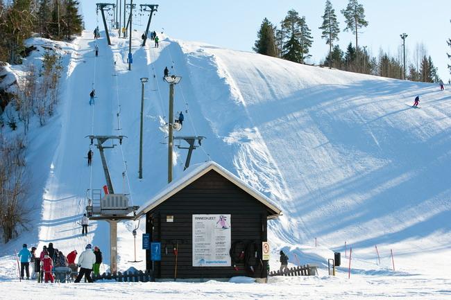 горнолыжный курорт  Ууперинринтеет