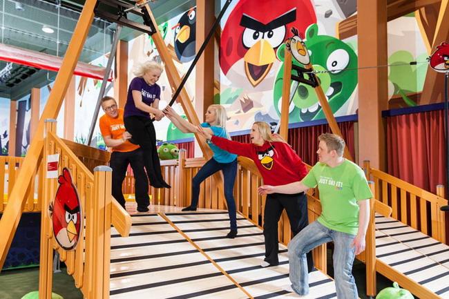 Парк Angry birds Иматра