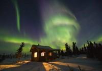 Полярная ночь в Финляндии