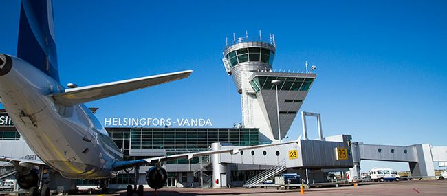 Аэропорт Вантаа Финляндия