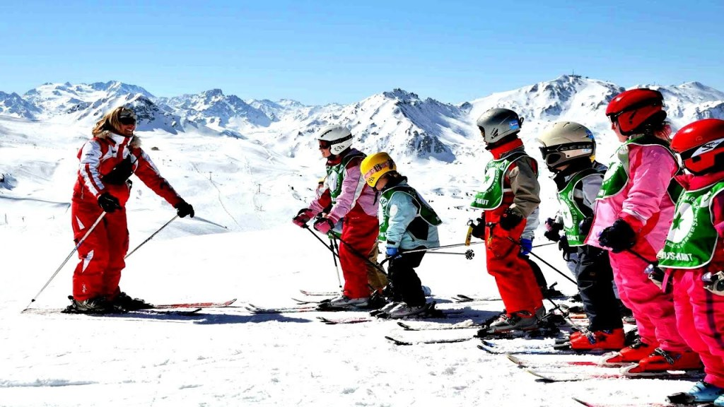 лыжная школа курорт химос
