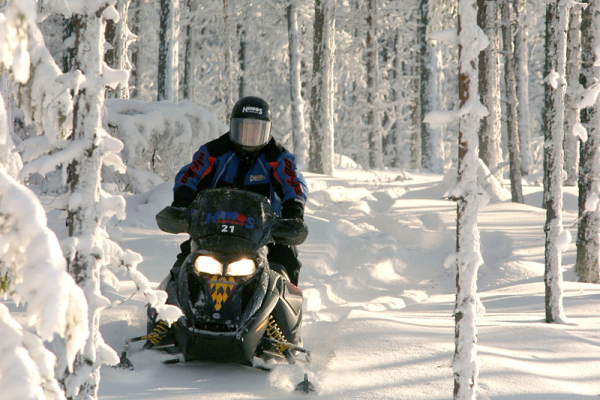 сафари на снегоходах химос