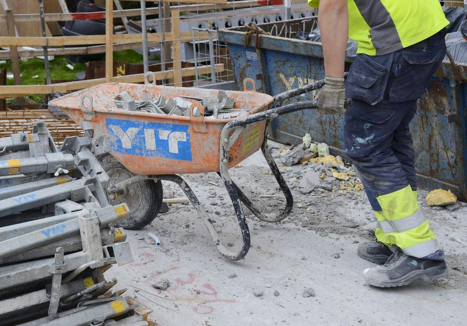 Rakennusteollisuus Ry, SRV, YIT, Lemminkäinen.