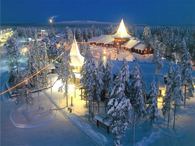 новогодние туры в Финлядию
