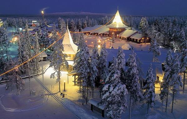 Новый год в Финляндии 2015