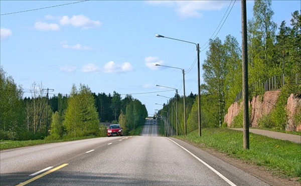 Финляндия на автомобиле