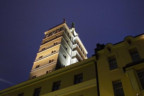 Отель небоскреб в Тампере