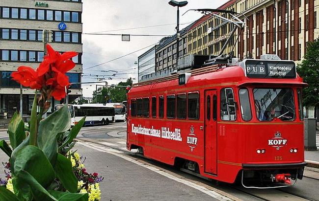 SparaKOFF - трамвай бар