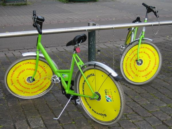 Муниципальные велосипеды в Хельсинки