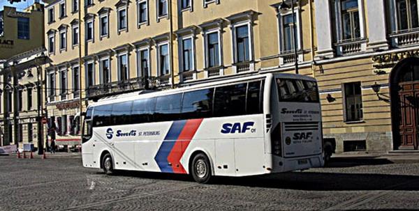 рейсовый автобус Санкт-Петербург Хельсинки