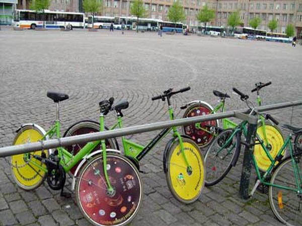 Муниципальный велосипед Финляндия