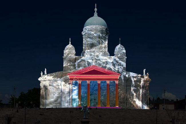 Фестиваль света в Хельсинки