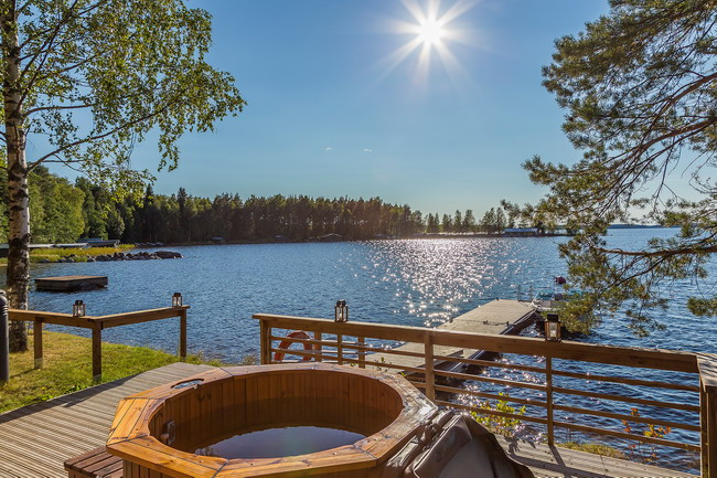 Отдых в Финляндии на озерах
