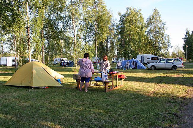 Кемпинги в Финляндии